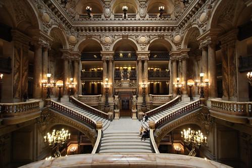 Paris - Opera - Palais Garnier - a classical view by nickonlinux