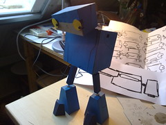 Robot progress 3