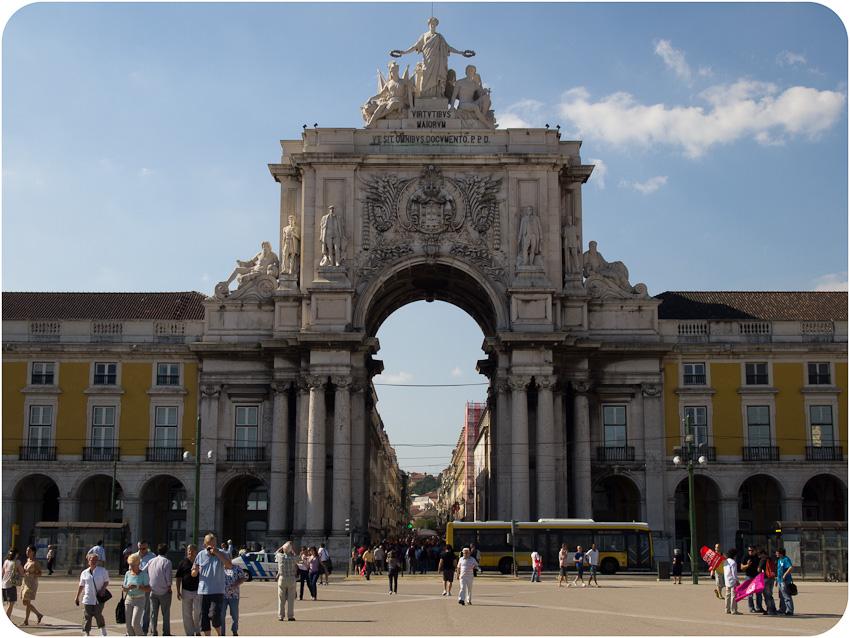L'arc de triomphe de la la Praça de Comércio