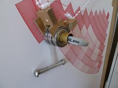Martian Sharpie polargraph (Euphy) Tags: pen mechanical drawing machine exhibition sharpie polargraph