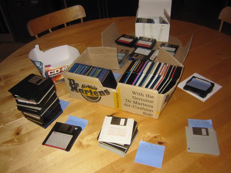 Floppy disk heaven
