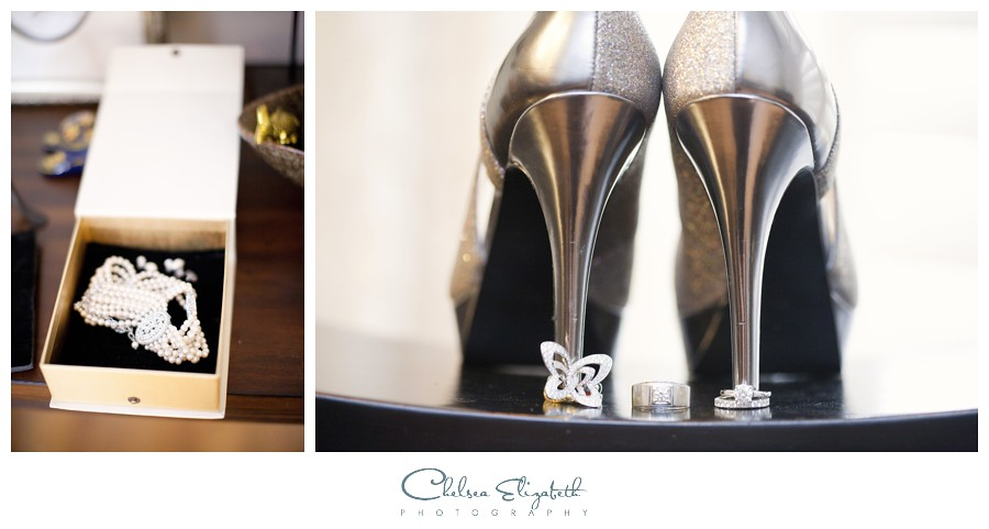 brides shoes and jewelry pasadena