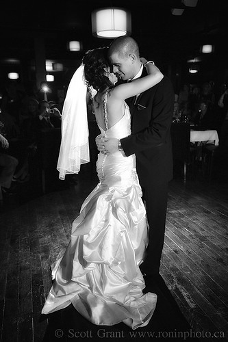 Ashley and Even's First Dance by Scott Grant