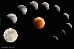 Lunar Eclipse June 15, 2011 (Violet Kashi) Tags: moon june photoshop eclipse nikon lunar saros 2011 d90 violetkashi
