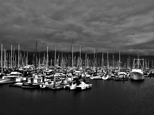 Day 168/365: Santa Barbara Harbor