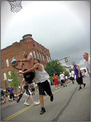 Lancaster Ohio - Gus Macker Basketball - 2011 (rbatina) Tags: county street city boy columbus ohio shirtless people playing man game streets male men guy sports boys muscles basketball sport june st festival ball court outside outdoors athletic downtown play shot muscular chest main contest group fame young free first competition guys 18th dude tournament event teen sweat topless gathering lancaster strong oh annual athletes thin bball 18 gus dudes trim broad amateur 3rd built fit fairfield teenage 3on3 tourney sweating macker 2011 rubbertoe