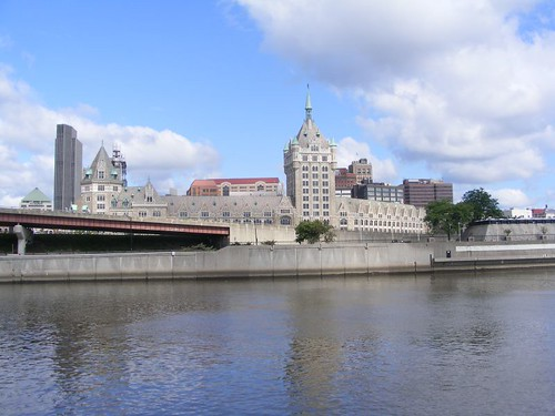 Albany from the Hudson