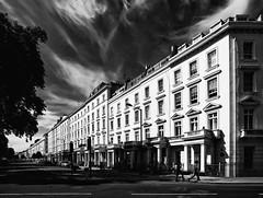 stately (eb78) Tags: uk england blackandwhite bw london monochrome architecture unitedkingdom grayscale pimlico greyscale