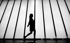 walk like a japanese (Magdalena Roeseler) Tags: world street camera city portrait bw woman white black eye japan square lens photography japanese prime schweiz flickr moments fotografie faces walk candid creative zug commons going olympus scene snap best crop squareformat vivian eyed 12mm moment frau 18 unposed left 45mm omd tog decisive tstreet maier explorescout strassenfotografie flickriver iphoneography streetog