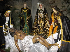 The Burial of Christ (Leo Cloma) Tags: santa philippines exhibit holy bulacan week isabel lent malolos cloma