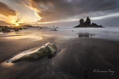 The Sea Castle (Francisco J. Pérez.) Tags: naturaleza nature atardecer paisaje panoramica tenerife playas sigma1020mm pentaxart pentaxk5 ´franciscojpérez