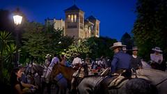 Paseo de caballos en parque de María Luisa