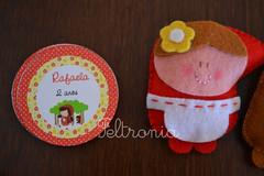 Tag e Chapeuzinho Vermelho! (Feltronia by Bia Leira) Tags: infantil festa ms lembrancinhas chaveiros chapeuzinhovermelho feltronia bialeira