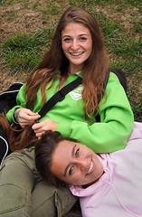 Sarah and Tess (jeffcbowen) Tags: sarah tess street stranger friendship toronto portrait the human family thehumanfamily