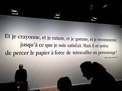 Herg au Grand Palais (Grained'Acacia) Tags: bd herge grandpalais expo