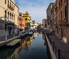 Venice (buddythunder) Tags: europe 2016 travel venice italy canal colourful houses buildings decay water perspective leadin wideangle