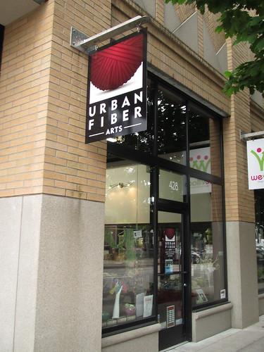 Urban Fiber Arts storefront