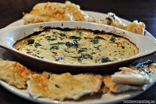 Spinach and Crab Dip at Patriot's Tavern ~ Stillwater, MN