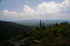 Boone Bowl (alexl1190423) Tags: blue summer mountain canon landscape hiking daniel grandfather peak scout ridge appalachian boone 30d calloway