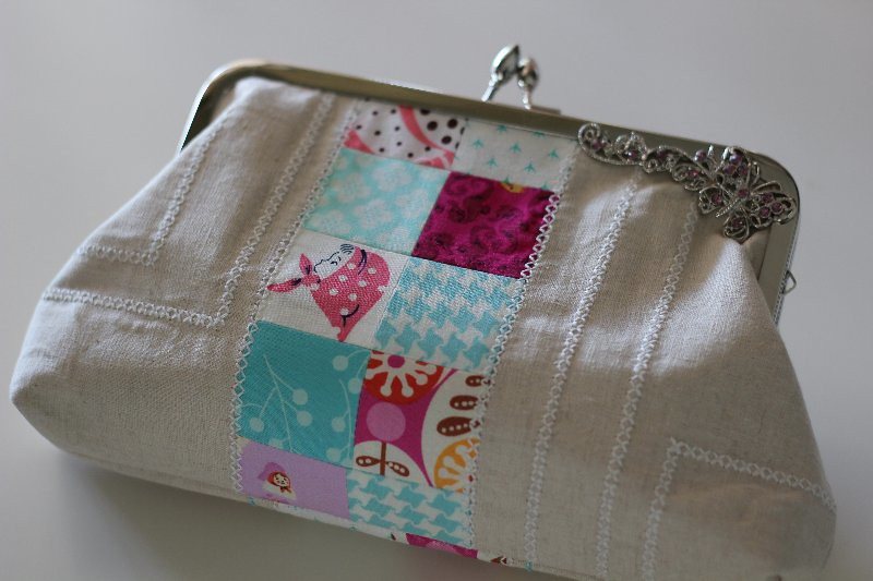 Pretty {little} purse swap received