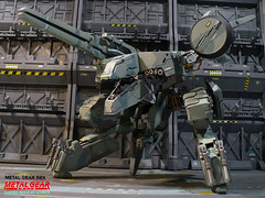 Complete_MGS-REX_03 (kyewans) Tags: metal toy model gear figure kit resin custom build rex 172 solid mgs
