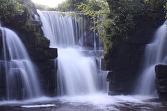 Local Waterfall (Kitenutuk) Tags: fall nature water speed flow waterfall slow fast flowing