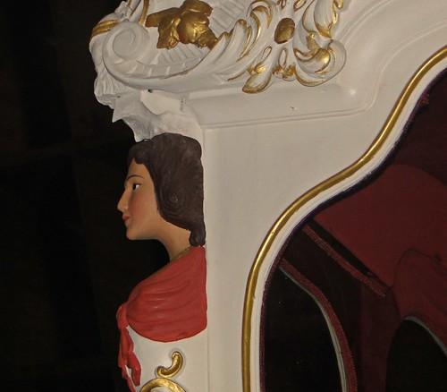 Detalhe da carruagem