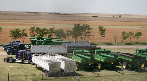 An eagles view of some of our machinery.
