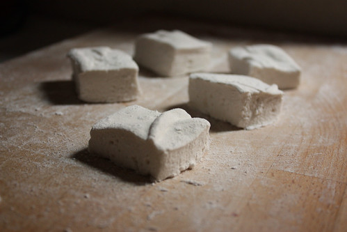 Wildflower Honey Homemade Marshmallows with Homemade Vanilla Extract