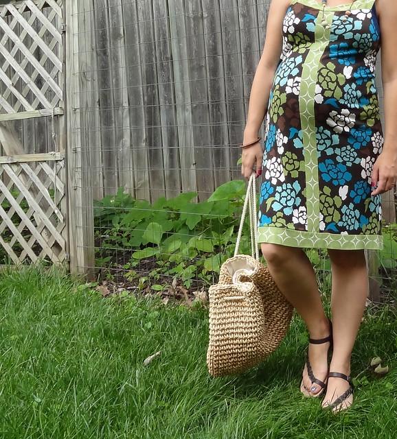 Floral Dress Detail