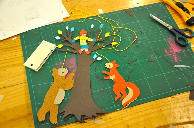 Paper Folk - Making Mobiles with Beci Orpin