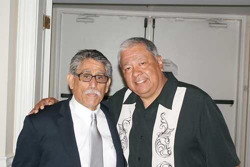 Frank Baltazar Sr and Frank Aragon