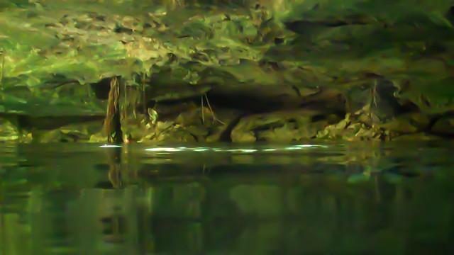 Cenote Azul Cave