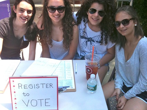 Model Congress Registers Voters