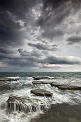 Apocalypse (Vertical Version) (DavidFrutos) Tags: costa seascape beach water rock clouds landscape coast interestingness agua rocks waves ngc wave playa paisaje explore alicante filter lee nubes nd filters drama canondslr olas roca rocas ola torrevieja filtro filtros gnd neutraldensity canon1740mm densidadneutra interesantsimo davidfrutos cabocervera 5dmarkii fotoenclave sailsevenseas singhraygalenrowellnd3ss rockpape