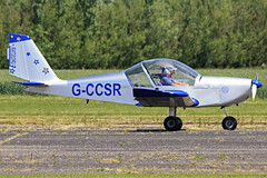 G-CCSR (QSY on-route) Tags: club aero lincon sturgate egcs gccsr 04062011