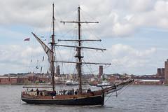 Tall ship, Zebu, Liverpool (Richard Carter) Tags: uk liverpool tallships mersey zebu merseyside
