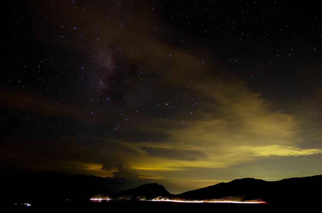 繁星點點的合歡山