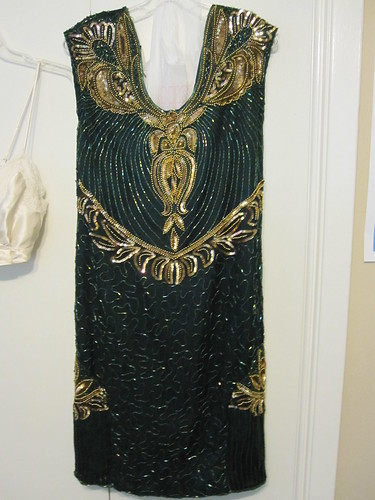 1920s Reproduction Deco Dress.