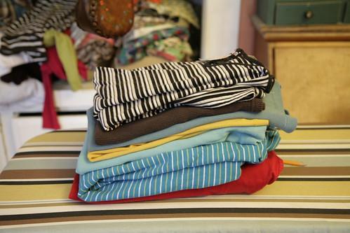 Thrift knits.