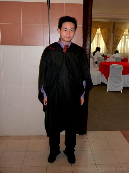 I have graduated
