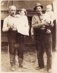 2 grandfathers (paws22) Tags: men kids pipe grandfathers