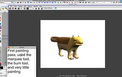 quick paint marquee (nateAnimate) Tags: texturing characteranimation uvmapping characterrigging