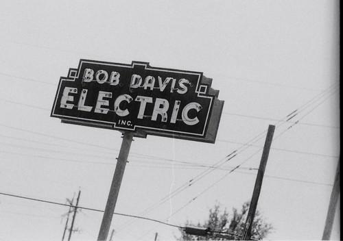 sign electric neon bob davis inc