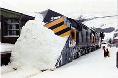 37088-37430 at crianlarich (47604) Tags: snow scotland highlands snowplough whl crianlarich westhighlandline class37 37088 37265 37430 alltypesoftransport