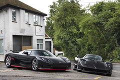 Enough Carbon? (Alex Penfold) Tags: auto camera red cars alex sports car sport mobile canon photography eos photo coo