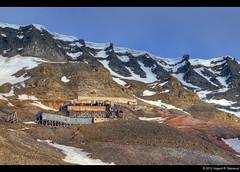 Gruve 2 - Longyearbyen - Svalbard (vegarste) Tags: 2 summer snow norway norge nikon rocks europe mine sommer norwegen svalbard arctic polar coal barren stein hdr spitsbergen snø longyearbyen gruve d90 3xp photomatix kull tonemapping 3exp karrig
