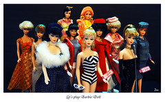 Let's Play Barbie Doll (possiblezen) Tags: new old gay holiday cold its vintage that one 1 evening doll all no barbie jazz continental spotlight number solo zen nostalgic reproduction mattel enchanted parisienne