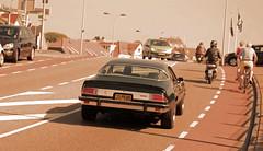 Camaro '77 (MostlyCarPhoto's) Tags: auto cars chevrolet car sepia nikon driving muscle edited automotive camaro chevy american autos 1977 77 edit chevroletcamaro noordwijk carphotography americanmuscle