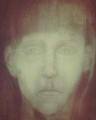 Inside My World..... (Donna St.Pierre) Tags: portrait selfportrait art artist moody drawing newengland providence rhodeisland selfie